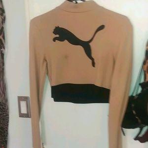 Puma Crop-top pullover